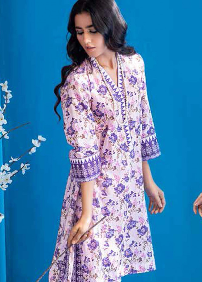 Gul Ahmed Printed Lawn  Unstitched Kurties GA21BG SL-948 A - Summer Collection