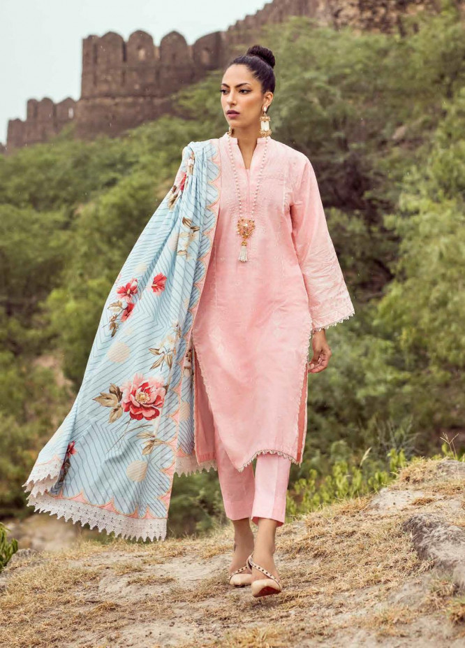 Gul Ahmed Embroidered Khaddar Suits Unstitched 3 Piece GA21WK K-12011 - Winter Collection