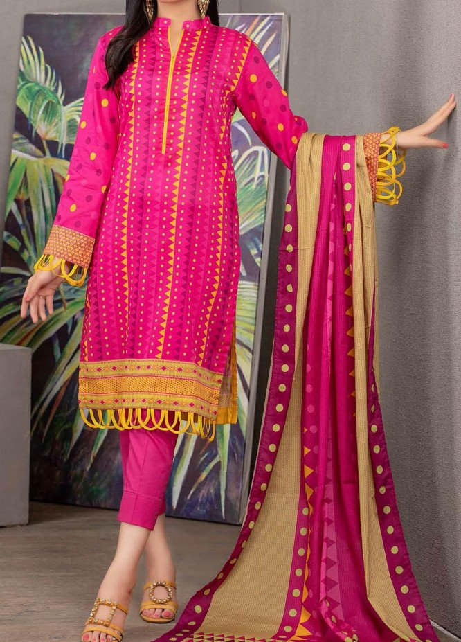 Malmal By Gul Ahmed Embroidered Lawn Suits Unstitched 3 Piece GA21-ML2 103B - Summer Collection