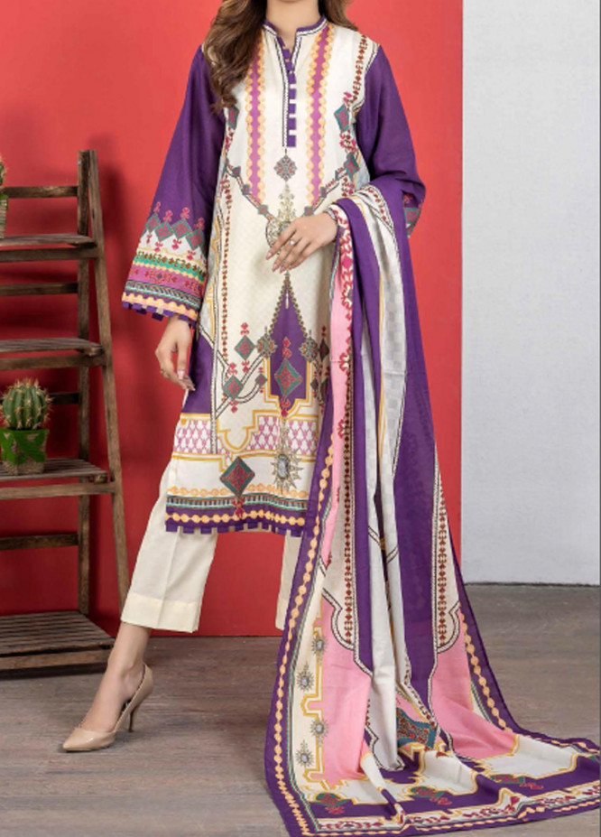 Malmal By Gul Ahmed Embroidered Lawn Suits Unstitched 3 Piece GA21-ML2 116A - Summer Collection
