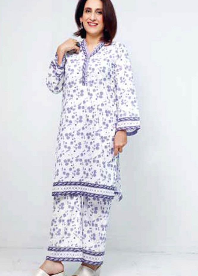 Gul Ahmed Printed Lawn  Unstitched Kurties GA21M SL-899 B - Summer Collection