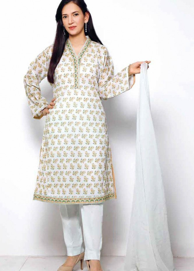 Gul Ahmed Printed Lawn  Unstitched Kurties GA21M SL-902 B - Summer Collection