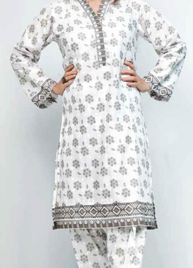 Gul Ahmed Printed Lawn  Unstitched Kurties GA21M SL-905 B - Summer Collection