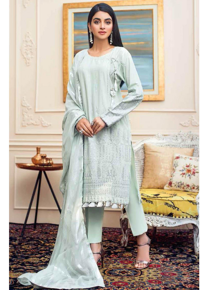 Gul Ahmed Embroidered Lawn Suits Unstitched 3 Piece GA21S FS 41 - Summer Collection