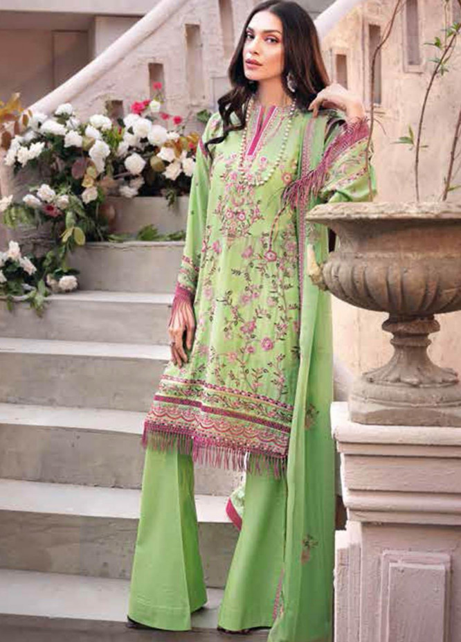 Gul Ahmed Embroidered Swiss Voile Suits Unstitched 3 Piece GA21S LSV 44 - Summer Collection