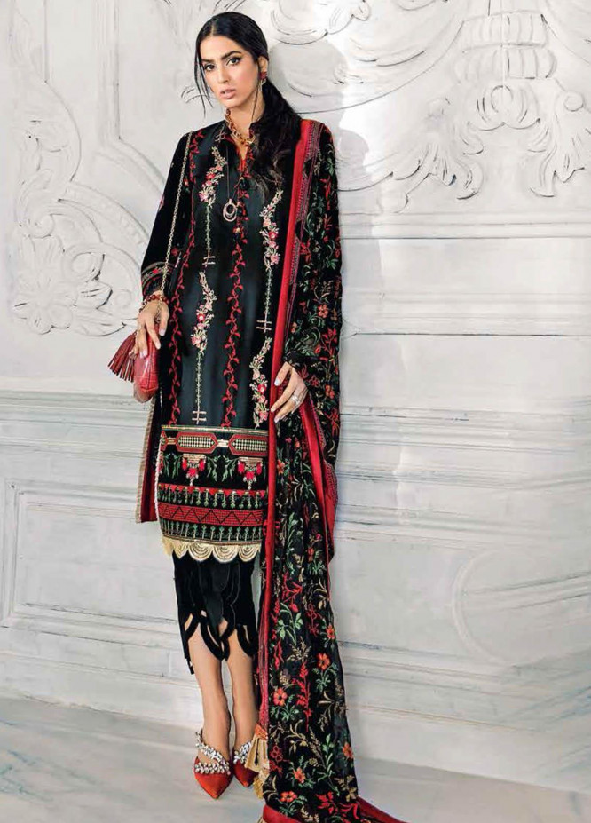 Gul Ahmed Embroidered Lawn Suits Unstitched 3 Piece GA21S PM 387 - Summer Collection