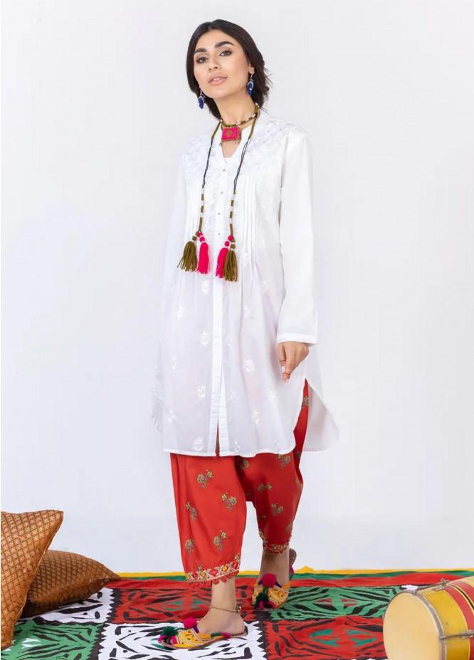 Gul Ahmed Pret Embroidered Cambric 2 Piece GA21P WGK-LWS-DE-451