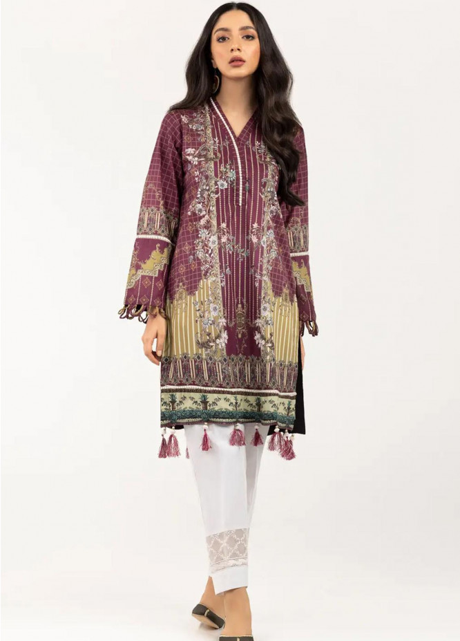Gul Ahmed Pret Printed Cambric Shirt GA21P WGK-LWS-DP-181