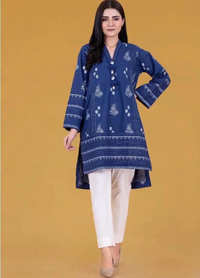 Gul Ahmed Pret Printed Cambric Shirt GA21P WGK-LWS-SP-236