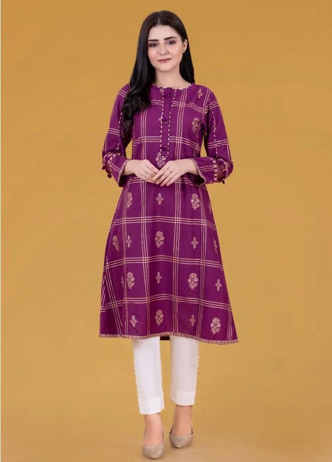 Gul Ahmed Pret Printed Cambric Shirt GA21P WGK-LWS-SP-238