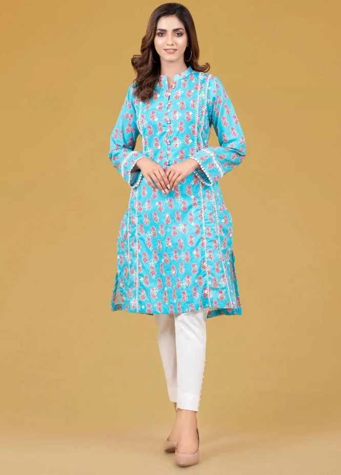 Gul Ahmed Pret Embroidered Cambric Shirt GA21P WGK-CMS-PE-297