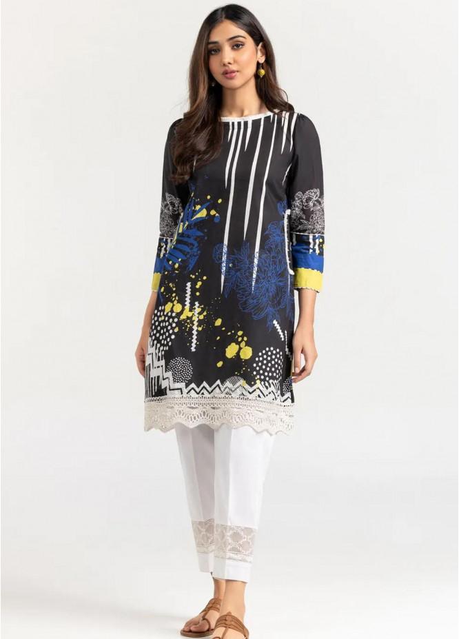 Gul Ahmed Pret Printed Cambric Shirt GA21P WGK-LWS-DP-226