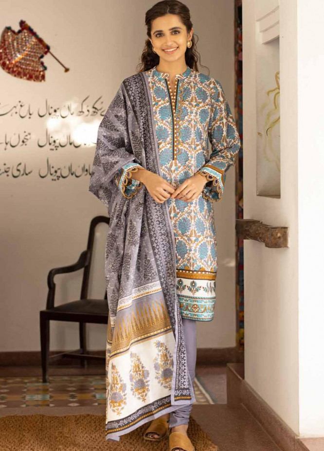 Rang Angan By Gul Ahmed Printed Lawn Suits Unstitched 3 Piece GA21RA CL-1265 A - Summer Collection