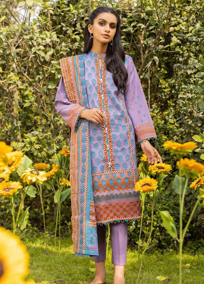 Rang Angan By Gul Ahmed Printed Lawn Suits Unstitched 3 Piece GA21RA CL-1266 A - Summer Collection