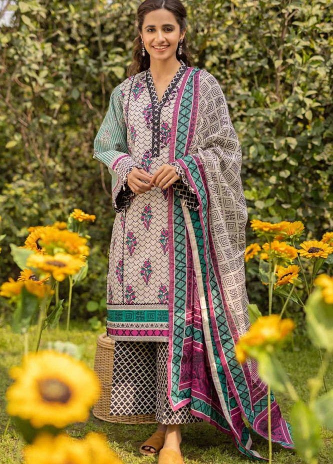 Rang Angan By Gul Ahmed Printed Lawn Suits Unstitched 3 Piece GA21RA CL-1267 A - Summer Collection