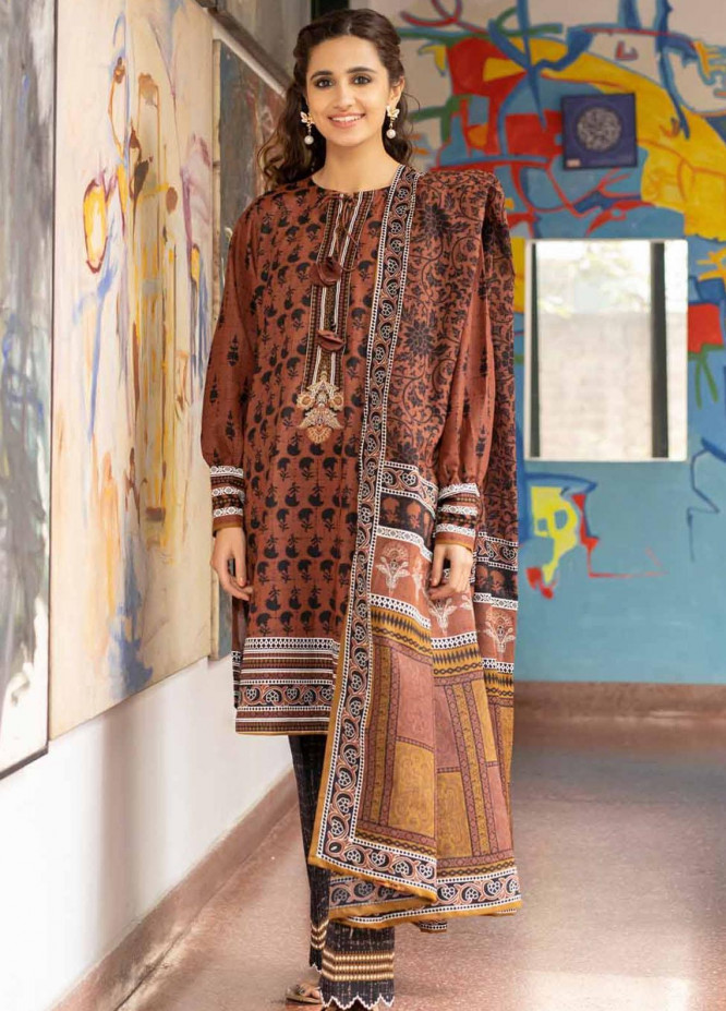 Rang Angan By Gul Ahmed Printed Lawn Suits Unstitched 3 Piece GA21RA CL-1325 A - Summer Collection