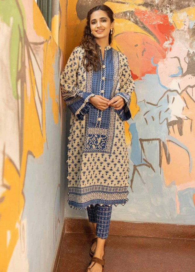 Rang Angan By Gul Ahmed Printed Lawn Suits Unstitched 2 Piece GA21RA TL-325 A - Summer Collection