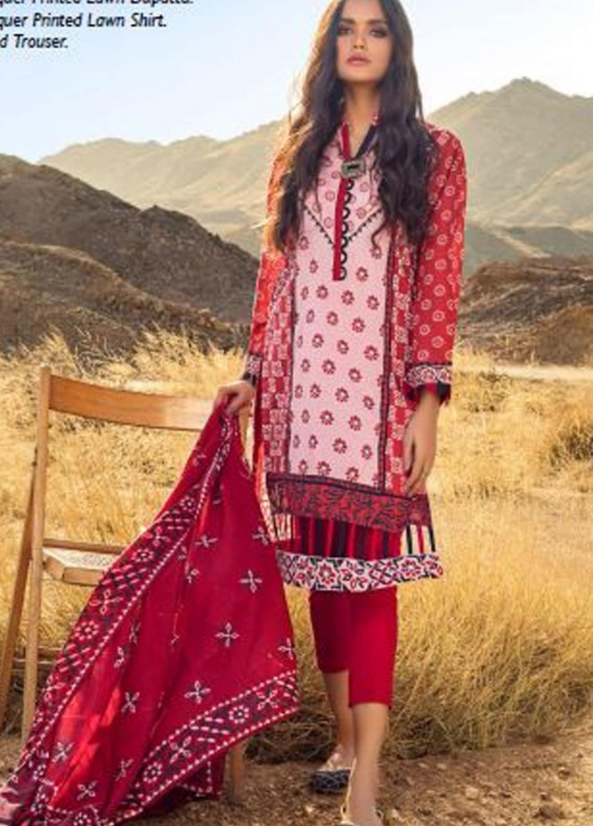 Roselene by Gul Ahmed Printed Lawn Unstitched 3 Piece Suit GA21R CL-1114 - Summer Collection