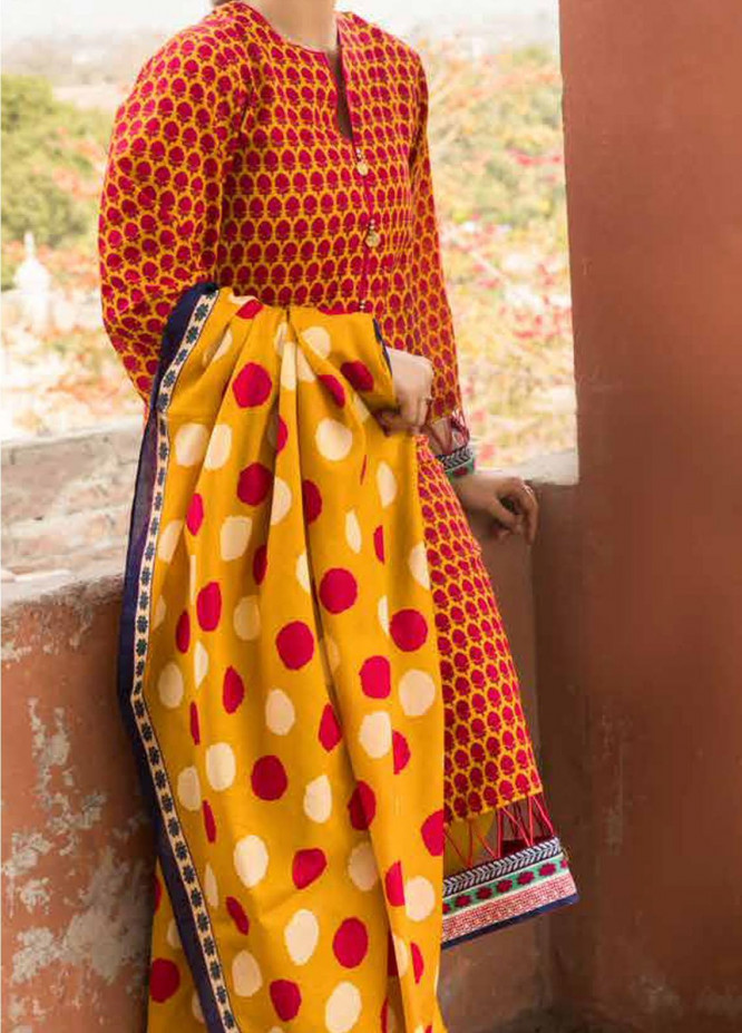 Gul Ahmed Embroidered Lawn Suits Unstitched 2 Piece GA21LL TL307B - Summer Collection