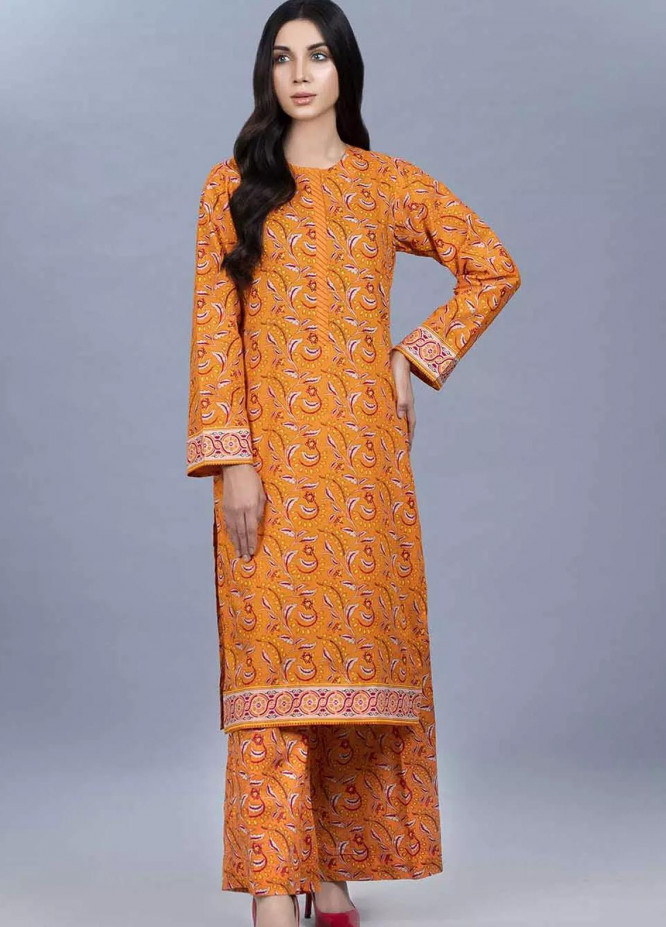 Gul Ahmed Printed Lawn  Unstitched Kurties GA21VG SL-884-B - Summer Collection
