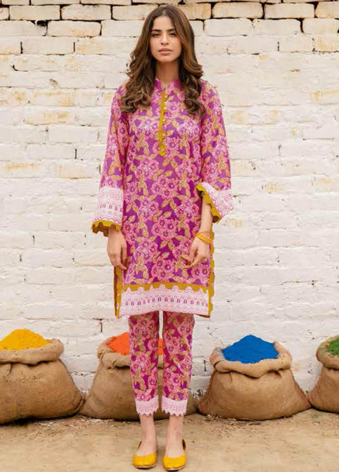 Gul Ahmed Printed Lawn  Unstitched Kurties GA21VG SL 919 - Summer Collection