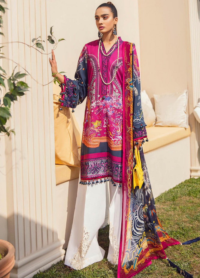 Gulaal Embroidered Lawn Suits Unstitched 3 Piece GL21L GL-06 Aaliyah - Summer Collection