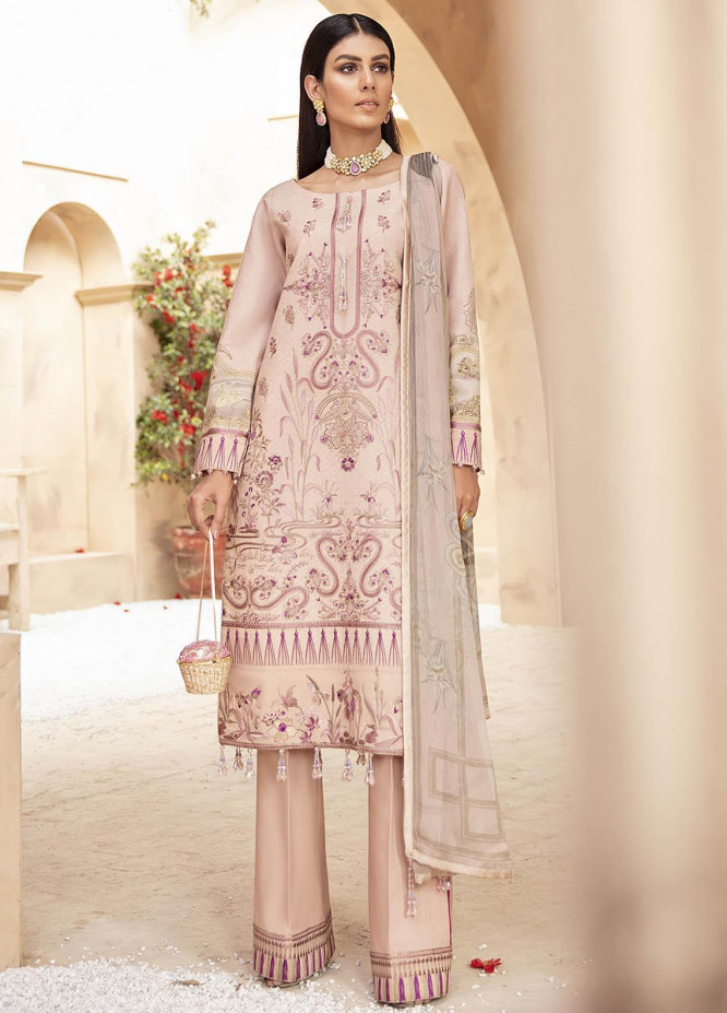 Gulaal Embroidered Jacquard Suits Unstitched 3 Piece GL21LL 08 Naubahaar - Luxury Collection