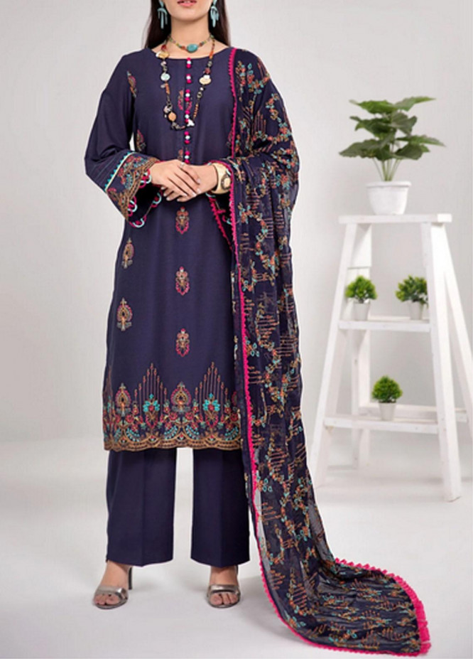 Gulkari By Mohagni Embroidered Lawn Suits Unstitched 3 Piece MO21G ME-21-07 - Summer Collection