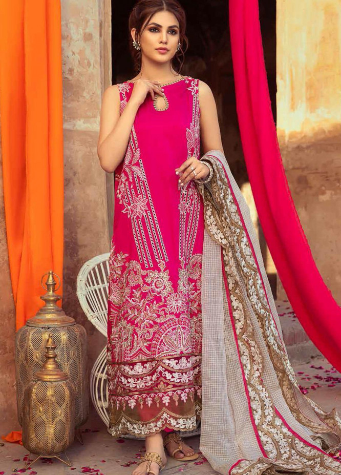 Gulzar By Charizma Embroidered Lawn Suits Unstitched 3 Piece CRZ21G 06 Princess Rules - Summer Collection