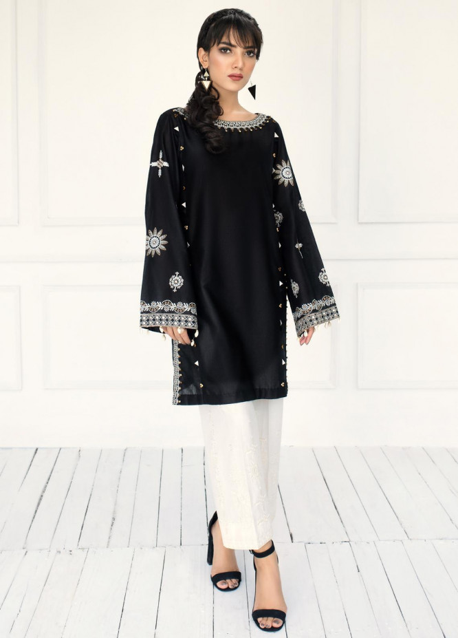 ILAHA Luxury Pret Embroidered Lawn 2 Piece Suit MOONLIGHT DEW