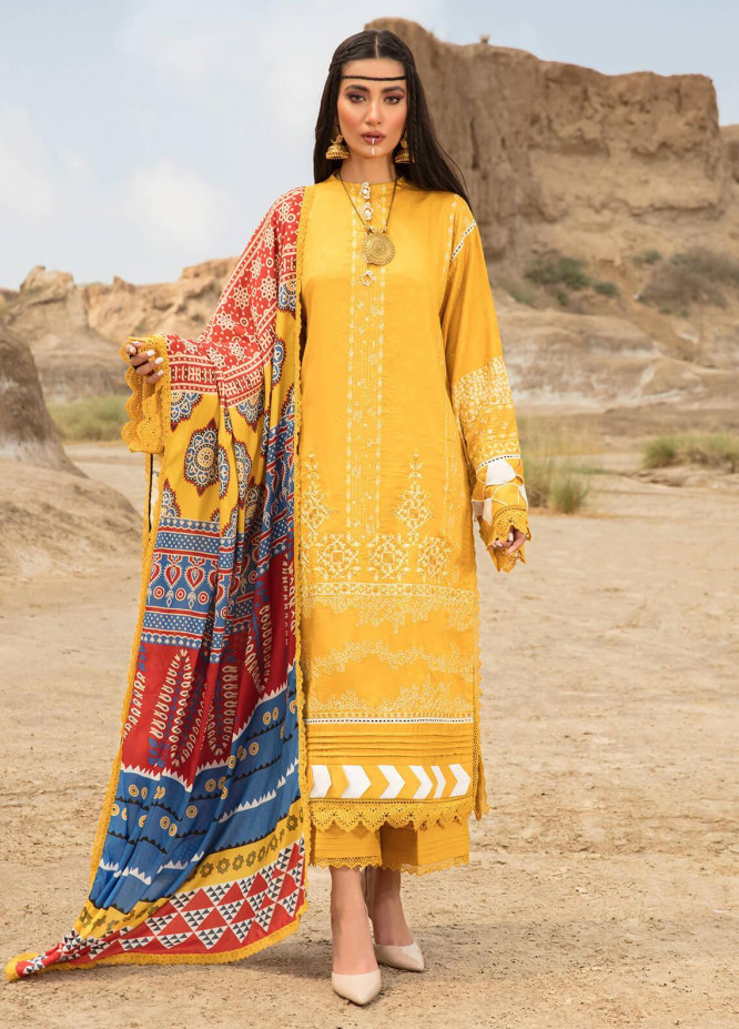 Ittehad Textiles Embroidered Jacquard Suits Unstitched 3 Piece IT21WP 01 HAMUR ISI - Winter Collection