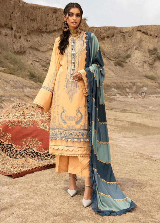 Ittehad Textiles Embroidered Dobby Suits Unstitched 3 Piece IT21WP 03 ISSIZ - Winter Collection
