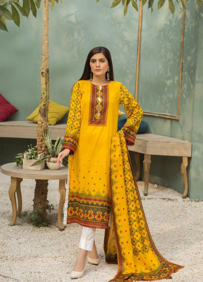 Ittehad Textiles Printed Lawn Suits Unstitched 3 Piece IT21CL LF-CL-21140A - Summer Collection