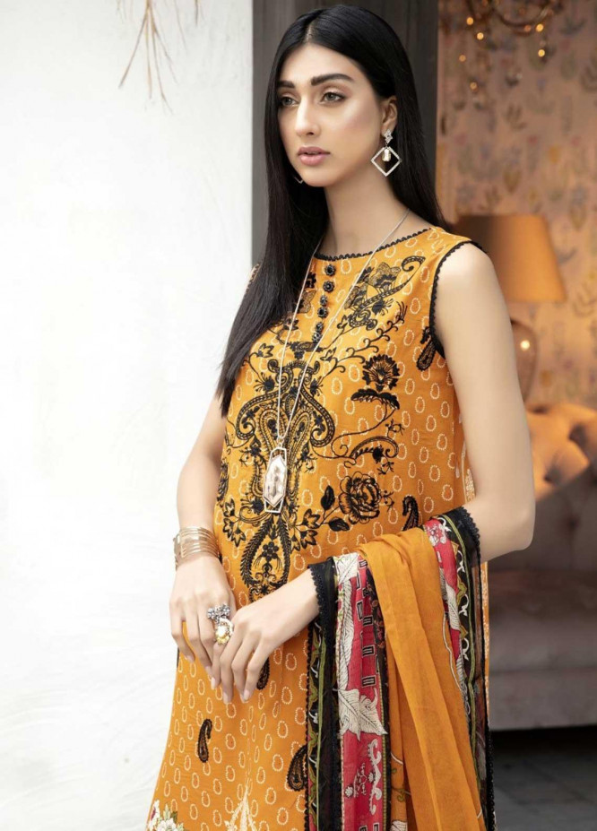 Ittehad Textiles Embroidered Lawn Suits Unstitched 3 Piece IT21EL ITE-MELODIA - Summer Collection