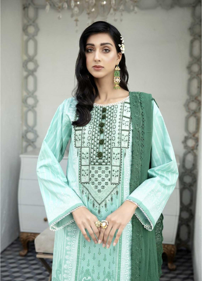Ittehad Textiles Embroidered Lawn Suits Unstitched 3 Piece IT21EL ITE-POESIA - Summer Collection