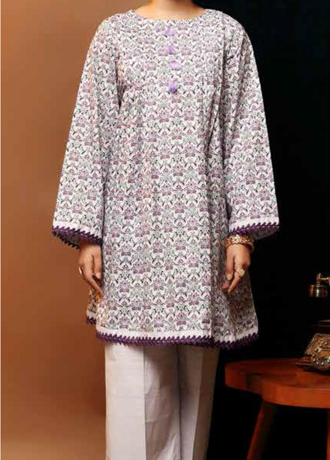 Heena By Ittehad Textiles Printed Cotton Suits Unstitched 2 Piece ITD21HC 001B - Fall Collection