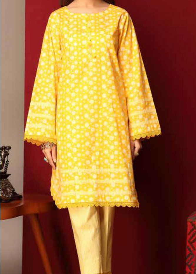 Heena By Ittehad Textiles Printed Cotton Suits Unstitched 2 Piece ITD21HC 002A - Fall Collection