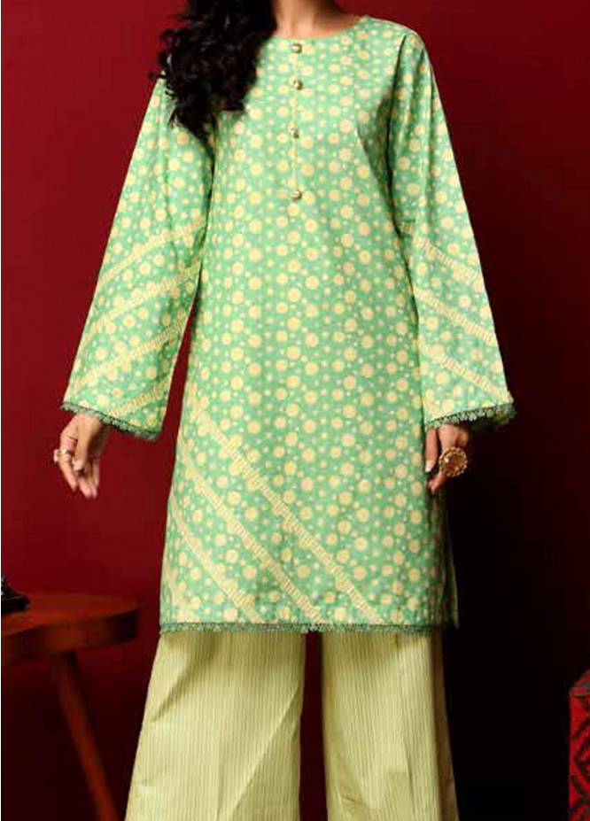 Heena By Ittehad Textiles Printed Cotton Suits Unstitched 2 Piece ITD21HC 002C - Fall Collection