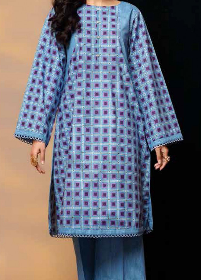 Heena By Ittehad Textiles Printed Cotton Suits Unstitched 2 Piece ITD21HC 003B - Fall Collection