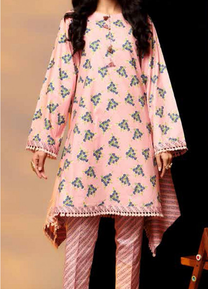 Heena By Ittehad Textiles Printed Cotton Suits Unstitched 2 Piece ITD21HC 004B - Fall Collection