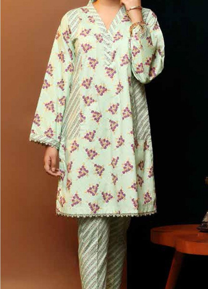 Heena By Ittehad Textiles Printed Cotton Suits Unstitched 2 Piece ITD21HC 004C - Fall Collection