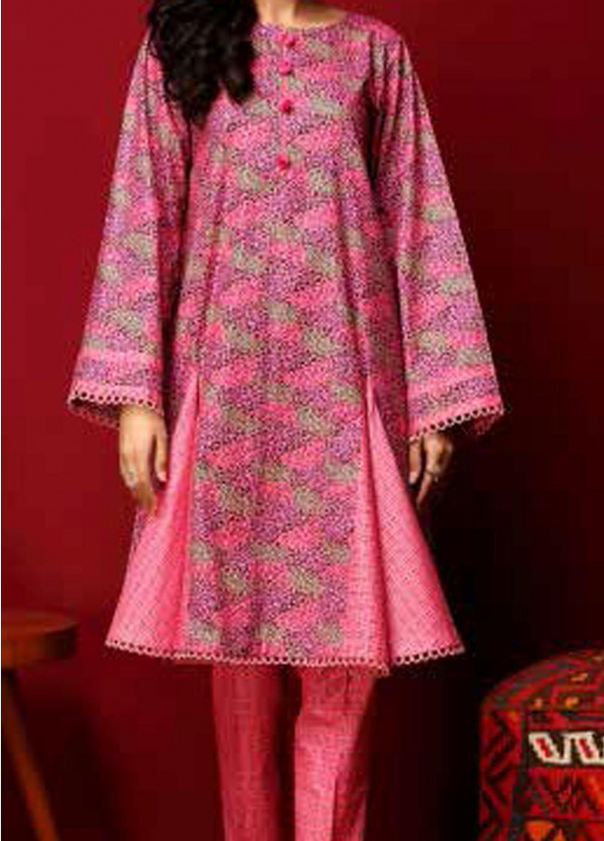 Heena By Ittehad Textiles Printed Cotton Suits Unstitched 2 Piece ITD21HC 005A - Fall Collection