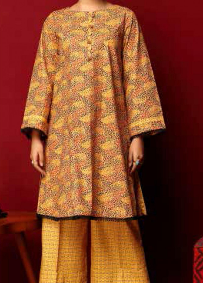 Heena By Ittehad Textiles Printed Cotton Suits Unstitched 2 Piece ITD21HC 005B - Fall Collection