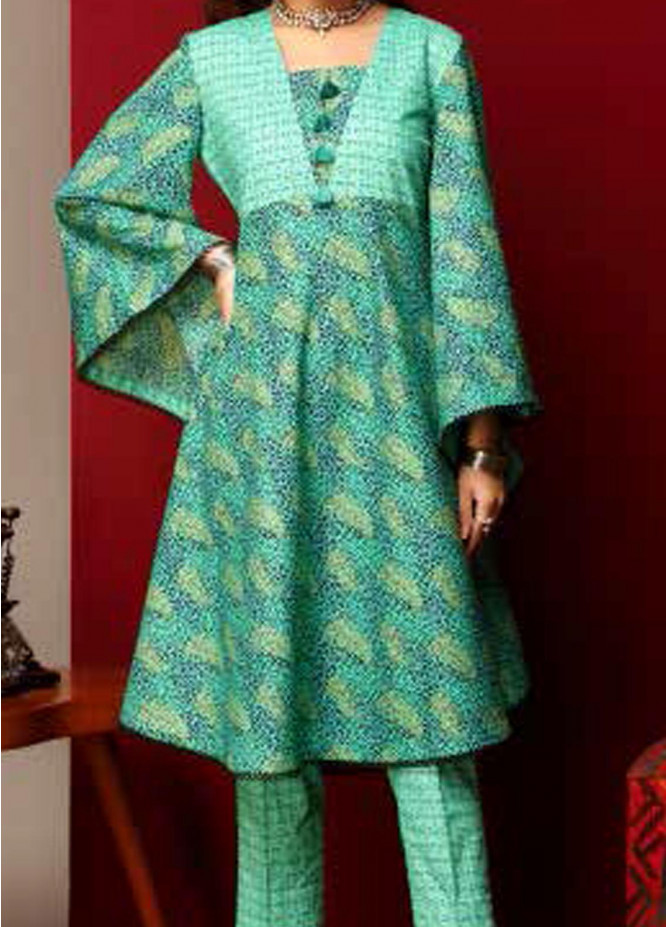 Heena By Ittehad Textiles Printed Cotton Suits Unstitched 2 Piece ITD21HC 005C - Fall Collection