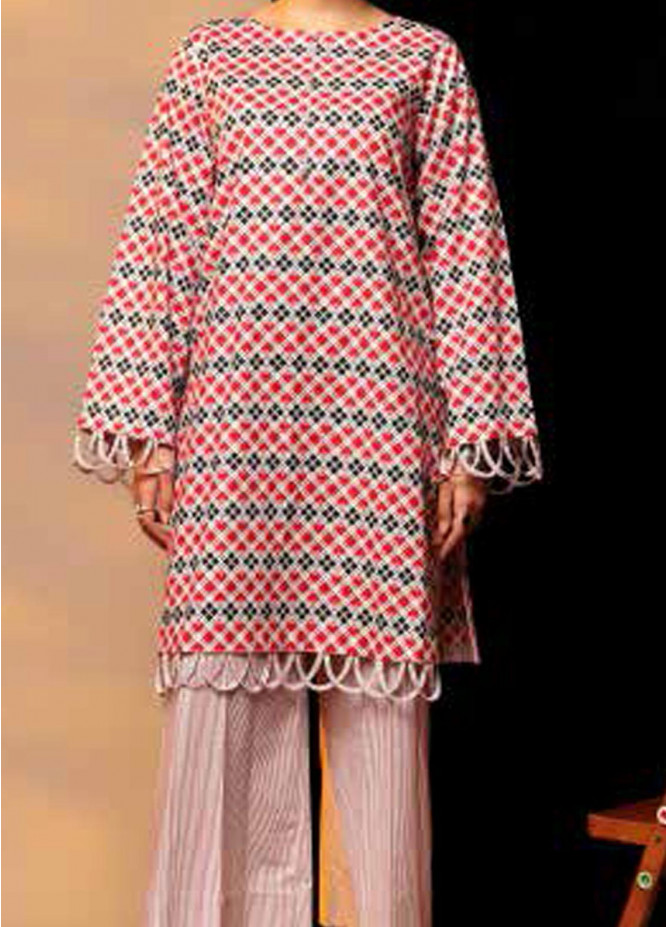 Heena By Ittehad Textiles Printed Cotton Suits Unstitched 2 Piece ITD21HC 006A - Fall Collection
