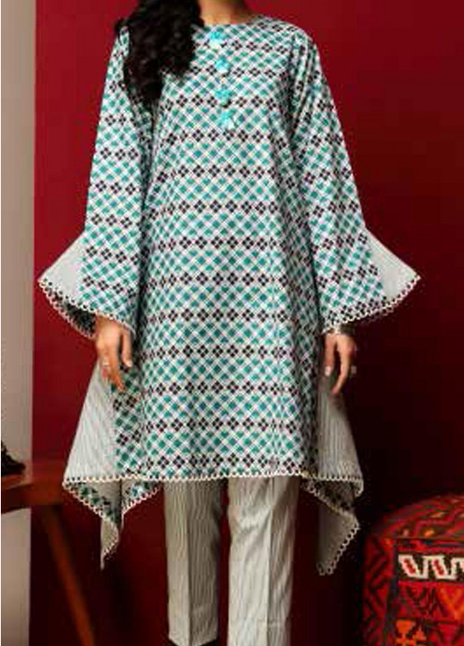 Heena By Ittehad Textiles Printed Cotton Suits Unstitched 2 Piece ITD21HC 006B - Fall Collection