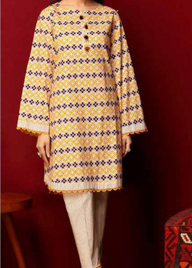 Heena By Ittehad Textiles Printed Cotton Suits Unstitched 2 Piece ITD21HC 006C - Fall Collection