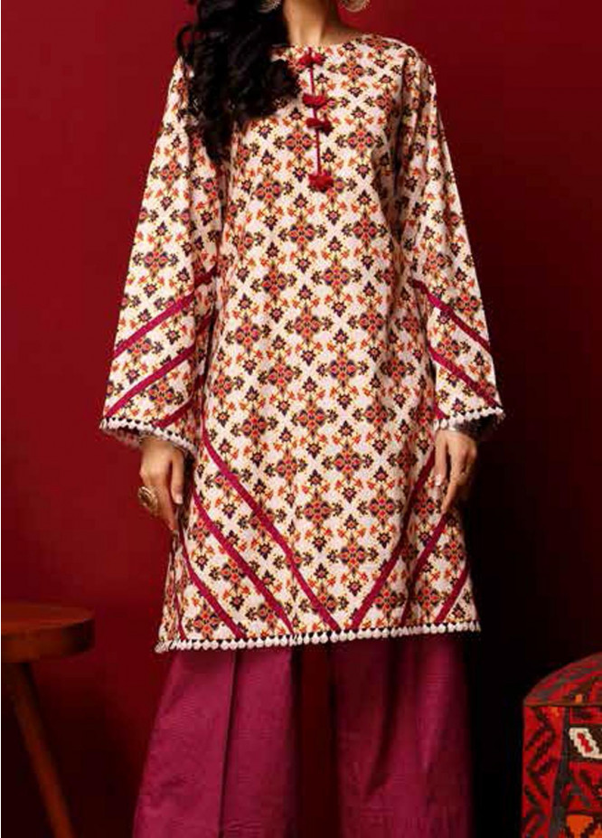 Heena By Ittehad Textiles Printed Cotton Suits Unstitched 2 Piece ITD21HC 007A - Fall Collection