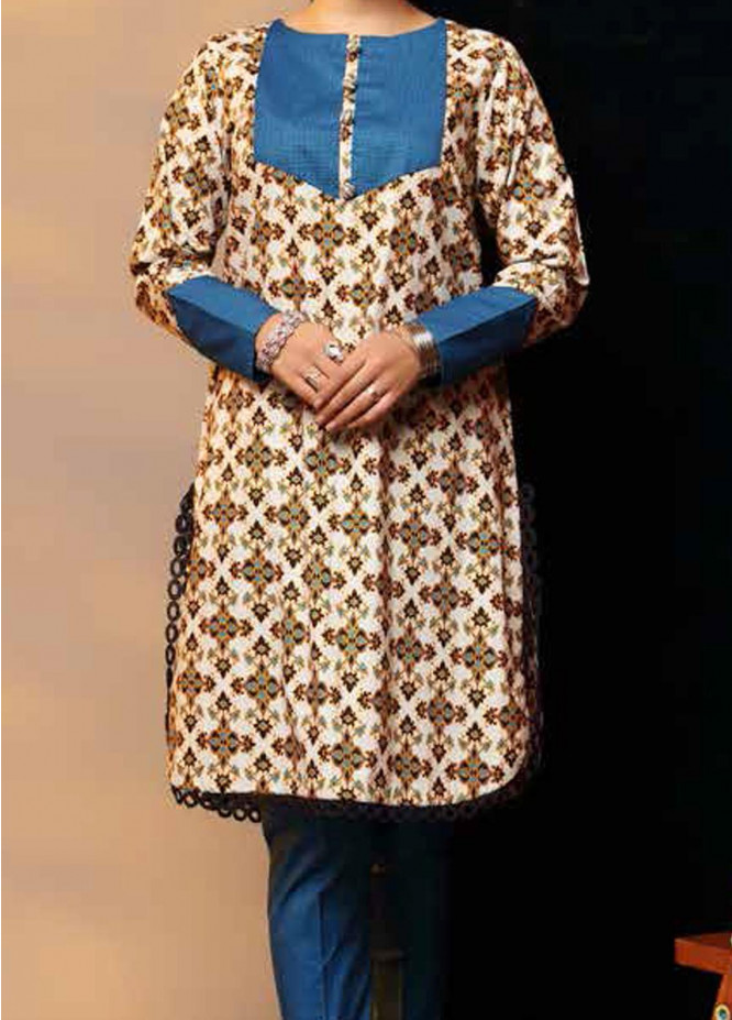 Heena By Ittehad Textiles Printed Cotton Suits Unstitched 2 Piece ITD21HC 007B - Fall Collection