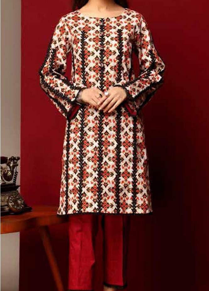 Heena By Ittehad Textiles Printed Cotton Suits Unstitched 2 Piece ITD21HC 007C - Fall Collection